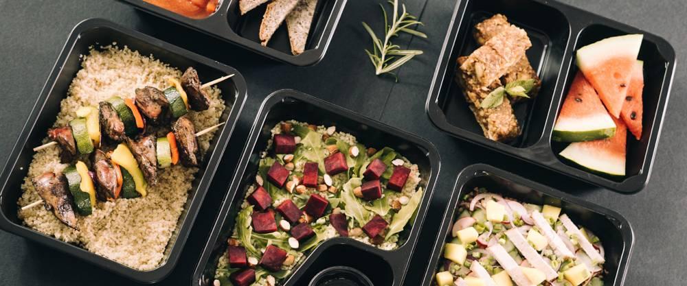 biodegradowalne opakowania do posiłków na wynos